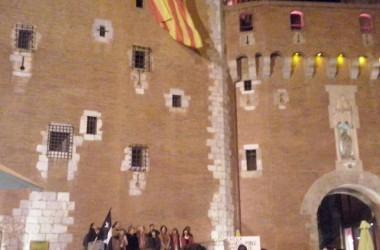 La Diada de la Catalunya del Nord a Perpinyà reclama esborrar la frontera del Tractat dels Pirineus.