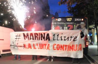 Campanya de solidaritat amb Marina Bernadó [Galeria d'imatges]
