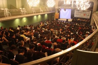 """Albert Artigas, portaveu nacional d'Arran: """"disposar d'una única organització que aglutina tot el jovent organitzat per la independència, el socialisme i el feminisme als Països Catalans ha contribuït al creixement del nostre moviment"""""""