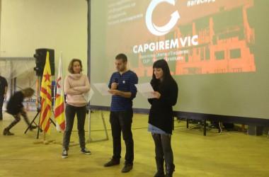 Es presenta la candidatura municipalista Capgirem Vic