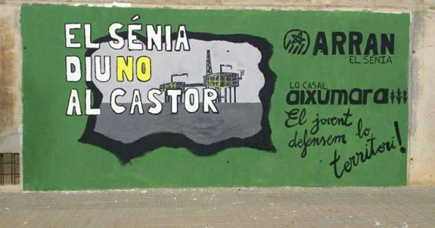 Convoquen per demà una concentració a Barcelona contra el pagament de la indemnització al projecte Castor