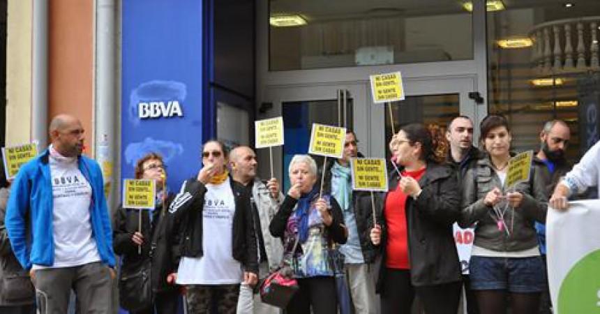 Manifestació contra els desnonaments avui a Pedreguer