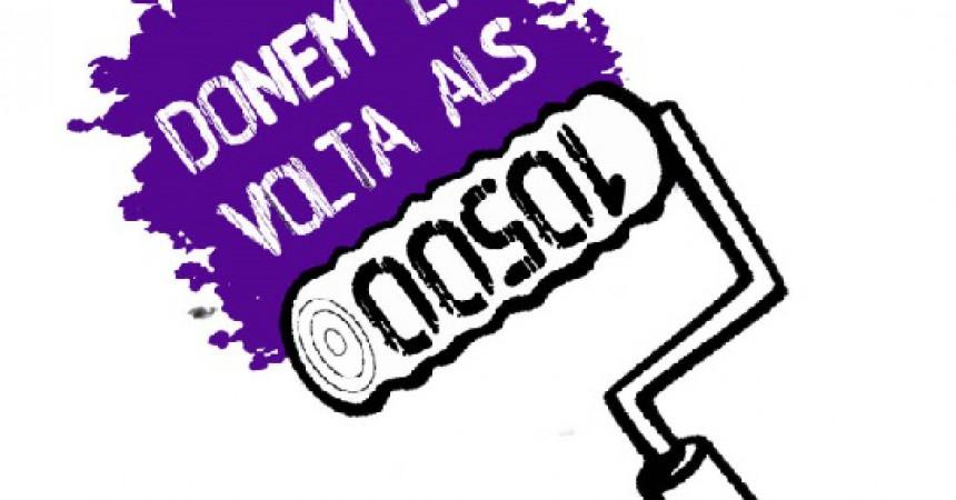 10.500 euros en multes contra un col·lectiu feminista del barri de Gràcia de Barcelona
