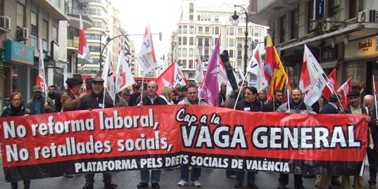 27-11-2010 manifestació pels drets socials - València 6