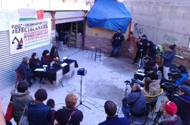 Crida de suport als encausats de Can Vies en els dies previs als judicis