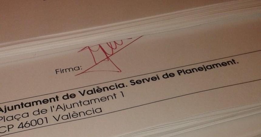 Allau d'al·legacions contra el PGOU de València