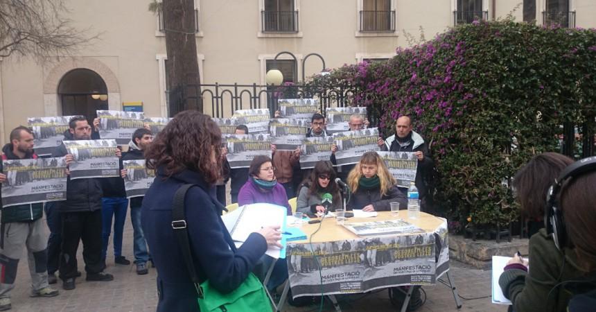 Crida a manifestar-se a València aquest dijous contra les lleis repressives