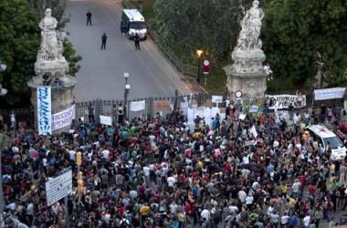 Càstig judicial contra els moviments populars de protesta