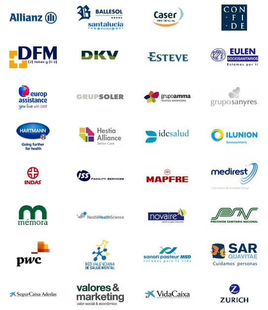 Les 34 empreses integrants de la Fundación Edad&Vida