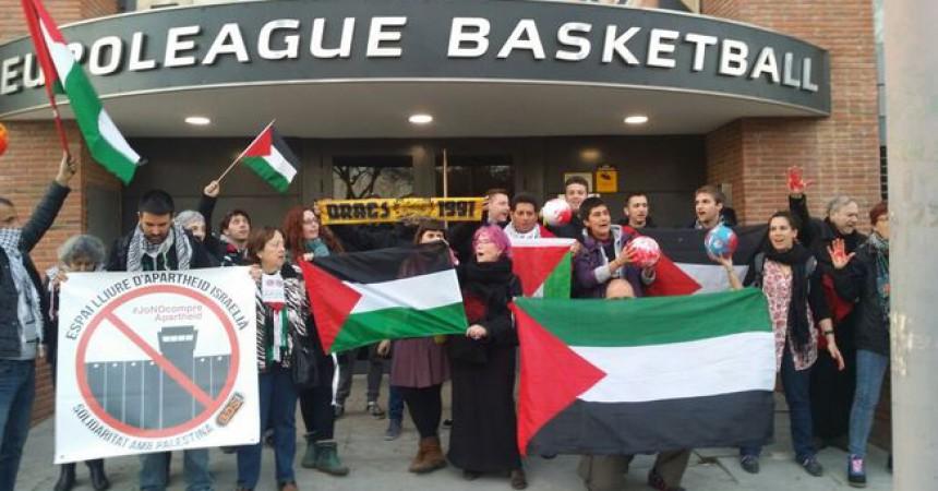 Prohibides les banderes palestines al Palau Blaugrana