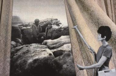 Fotomuntatges contra les guerres imperialistes
