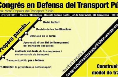 Bones perspectives de cara al 1r Congrés en Defensa del Transport Públic