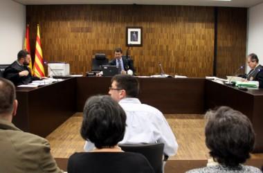 La versió policial s'imposa en els judicis de Can Vies
