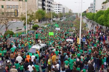 Mobilitzacions a Mallorca en defensa de la llengua i l'ensenyament públic