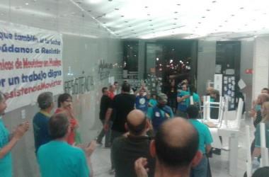 49 dies de vaga #ResistènciaMovistar i 48 hores d'#OccupyMovistar