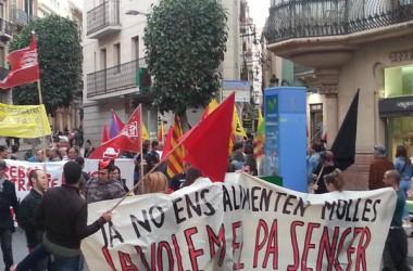 1 de maig de 2015 // Les mobilitzacions del 30 d'abril