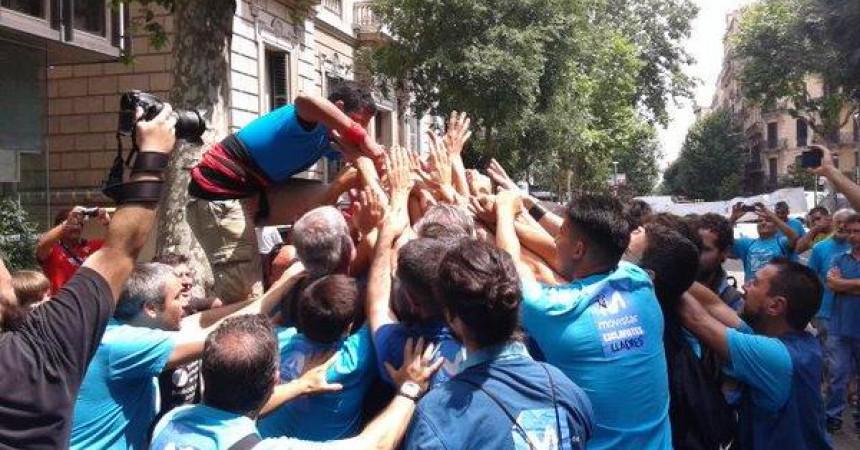 La lluita dels treballadors de Movistar entra en un nou cicle