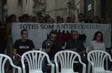 Els sis antifeixistes encausats pels fets del 12 d'octubre de 2013 inicien una campanya de difusió del cas