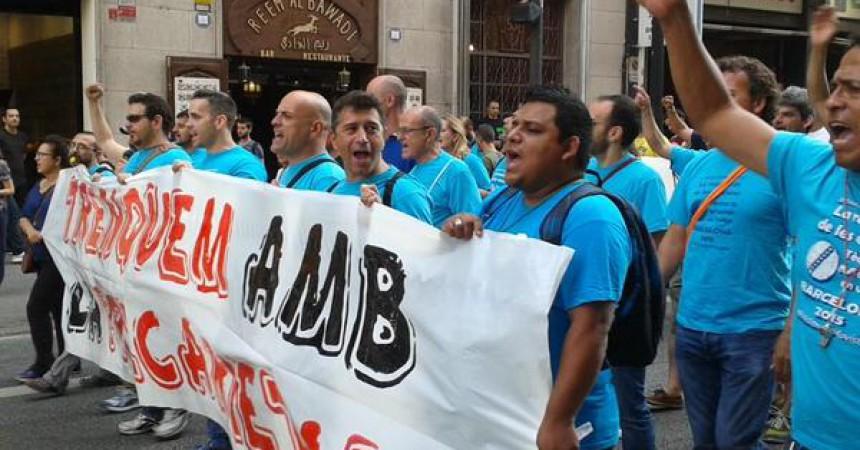 Els vaguistes de Movistar deslegitimen el pacte entre patronal, UGT i CCOO