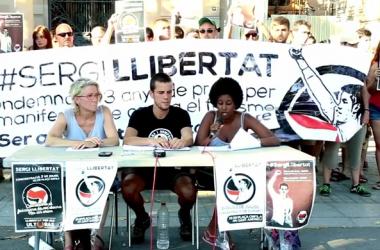 Un antifeixista amenaçat amb ingrés a presó per haver-se manifestat contra un concert nazi