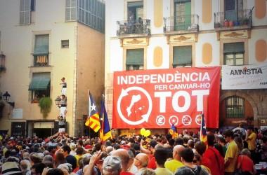 L'Esquerra Independentista crida l'Onze de Setembre a 'tirar pel dret'