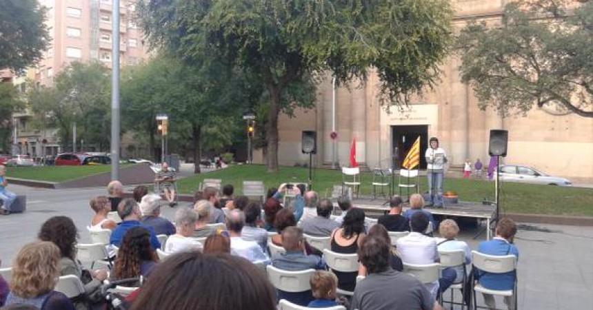 L'esquerra independentista de Sant Andreu dóna el tret de sortida als actes de l'Onze de Setembre a Barcelona
