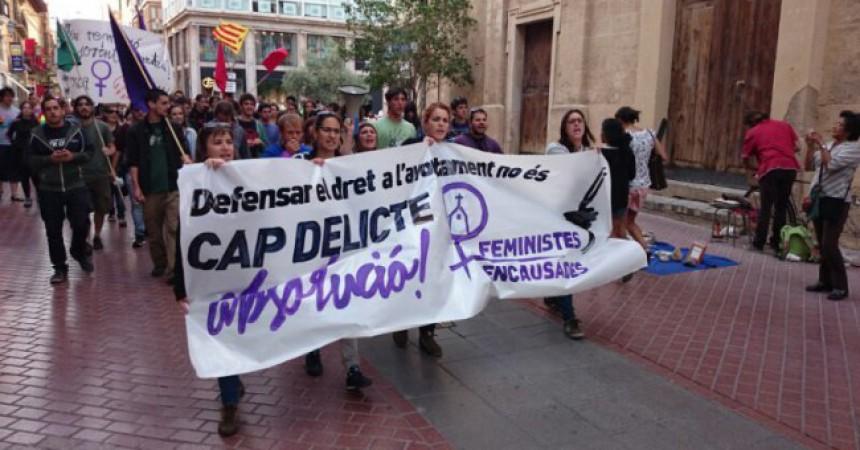 El Bisbat de Mallorca demana 4 anys de presó per a sis feministes