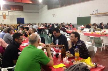 Torís: el Correllengua a un municipi de frontera lingüística