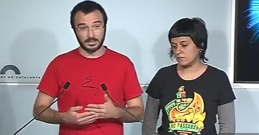 La CUP aconsegueix posar el Parlament de Catalunya a les portes de la desobediència