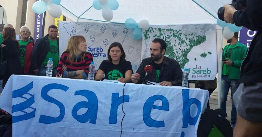 La PAH, contra la SAREB