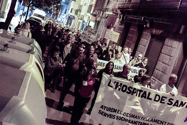Manifestació Mataró Sant Jame