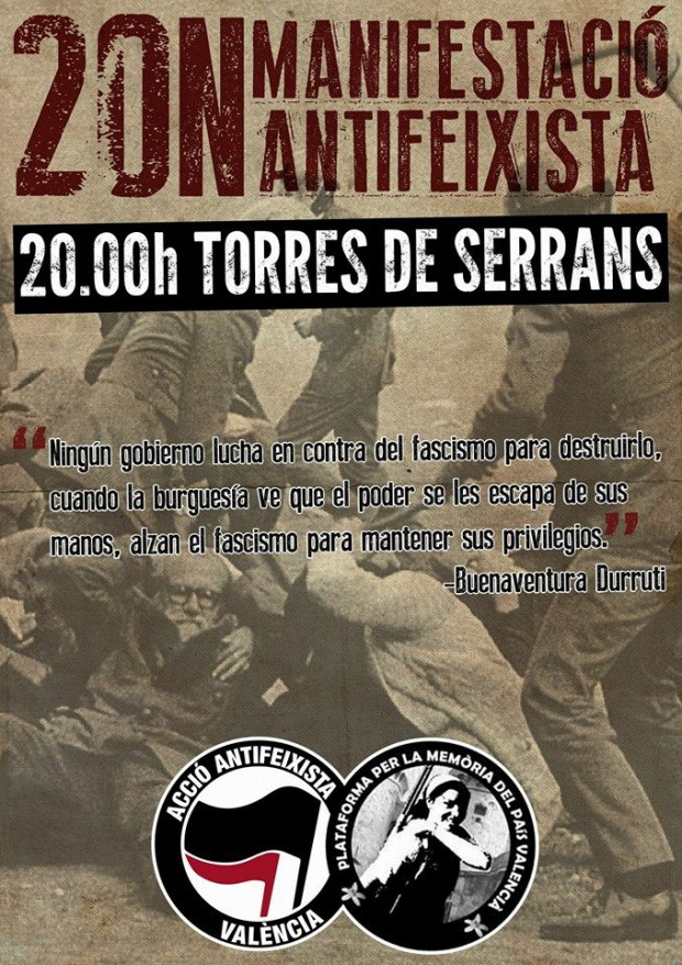Cartell manifestació 20N València(1)