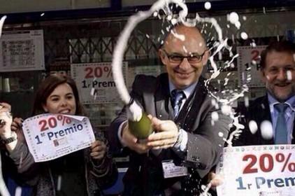 El 88% de la nostra despesa en Loteria de Nadal marxa cap a Madrid