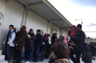 Impuls als camps autogestionats de refugiats a Lesbos