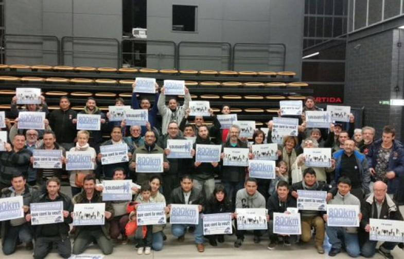 Trucada directa a la solidaritat i la lluita