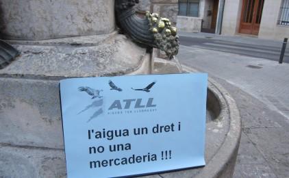 Antifrau conclou que ATLL va inflar factures per pujar el preu de l'aigua
