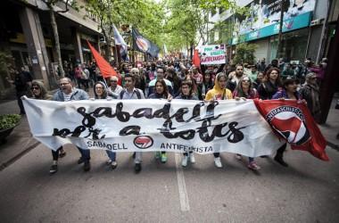 Tots els colors de Sabadell contra el feixisme