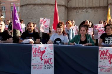 L'esquerra independentista presenta els actes de la Diada del País Valencià
