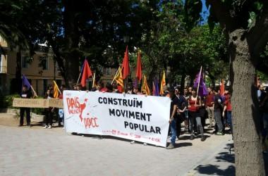Manifestació a Sueca per a commemorar el 25 d'abril