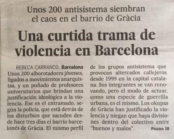 Article d'El País 28 maig 2016
