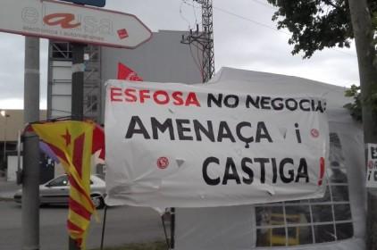 La Generalitat també considera legal la vaga d'Esfosa del març