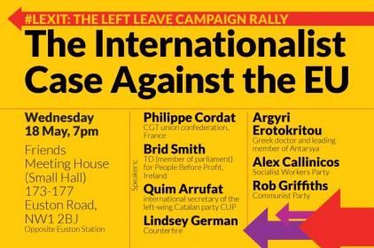 L'esquerra de la Gran Bretanya partidària del 'brexit' valora el referèndum