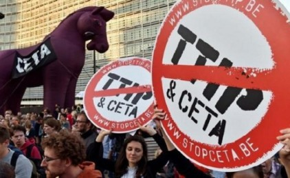 Mobilitzacions contra el CETA i el TTIP el dissabte 15