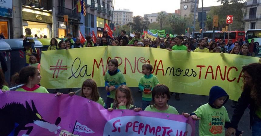 Tornen les mobilitzacions en defensa de l'ensenyament públic