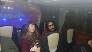 Nora i Roger, camí de Madrid