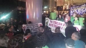 Pancartes solidàries