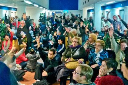 La lluita de les veïnes del CAP de Rocafonda torna als carrers de Mataró