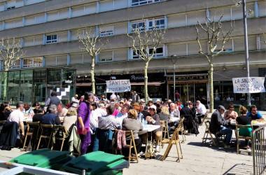 La lluita en defensa de la sanitat 100% pública surt als carrers de Mataró
