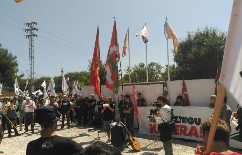 Vídeos i imatges de la marxa a la presó de Picassent