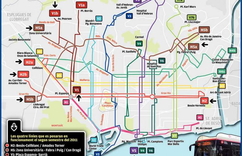 Nova Xarxa de Bus a Barcelona: De com vendre una retallada com una millora